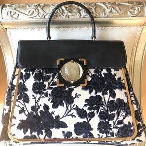 NWT Rare Tory Burch Floral Vienna Top Handle Bag